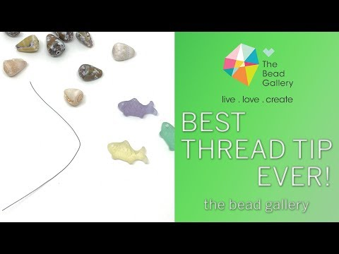 ProTip: How We Use Fishing Line At The Bead Gallery