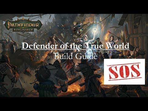 Kingmaker Build SOS: Defender of the True World Druid