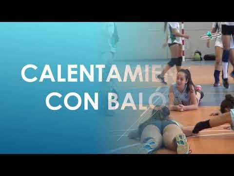 VÍDEO Observación CALENTAMIENTO Voleibol