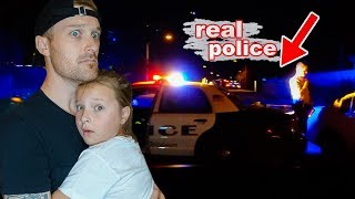 Today we were trapped inside our house while real police and swat w...