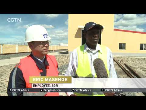 #SGRLaunch Kenya 's billion dollar project to provide employment to 30,000 Kenyan youths