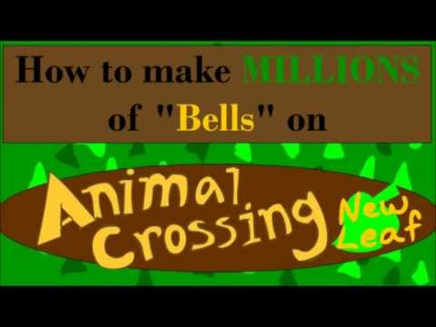 How To Make Pillows In Animal Crossing New Leaf : Make Millions of Bells on Animal Crossing New Leaf - YouTube