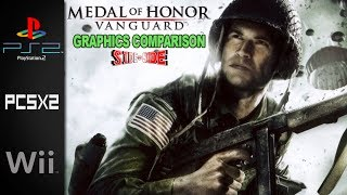 Medal of Honor Vanguard | Side by Side | PS2  Wii  PCSX2