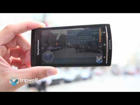 Augmented Reality Viewer - tripwolf Android Reiseführer App