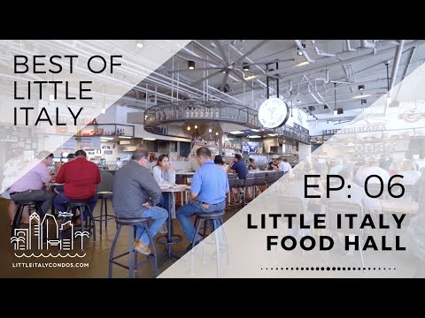 Little Italy Food Hall - Little Italy San Diego Restaurants