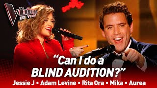 Download Mp3 Coaches giving the Blind Auditions a try on The Voice The Voice 10 Years ENG subs