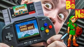 RetroDuo Portable Let You Play Real NES & SNES Carts