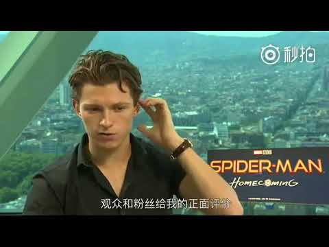 Tom Holland interview with Chinese Mtime