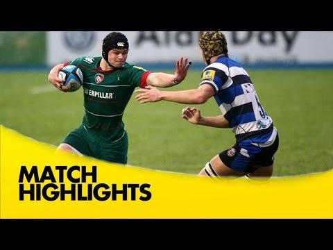 Premiership Rugby / RFU U18 Academy Finals Day – Bath Rugby v Leicester Tigers