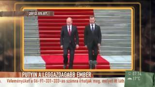 Putyin kétszer gazdagabb, mint Bill Gates? - 2015.07.31. - tv2.hu/mokka