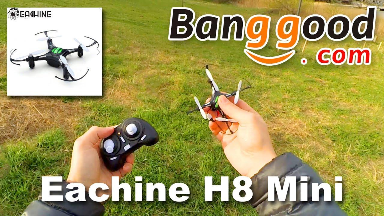 JJRC Eachine H8 Mini  კვადროკოფტერის განხილვა