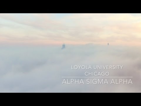 Alpha Sigma Alpha Loyola University Chicago Recruitment 2017