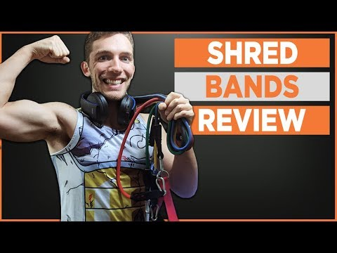 Shred Bands Resistance Bands Review - Best Resistance Bands For Your Home Gym In 2018