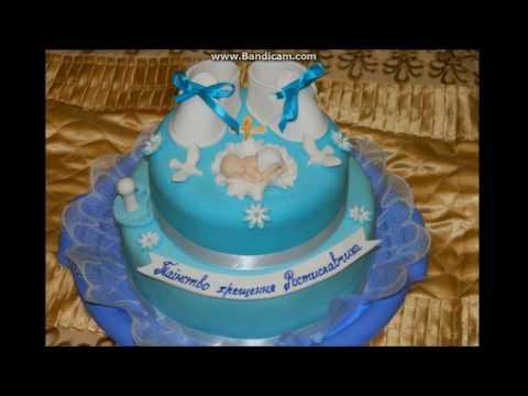 Варианты тортов на крещение. Торти на хрестини.
