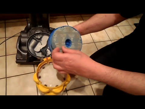 HOW TO SERVICE - DYSON UPRIGHT VACUUM CLEANER FOR TOP PERFORMANCE
