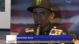 MOTO GP 2018 – HAFIZH MAHU KEKAL POSITIF & SASAR 20 TERBAIK [22 FEB 2018]