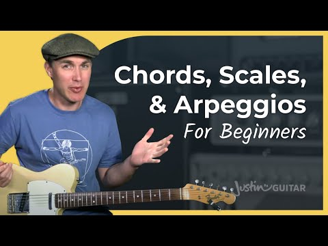 Chords, Scales & Arpeggios • Practical Music Theory • Grade 2 • JustinGuitar • Guitar Lesson
