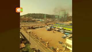Magari 2 ya polisi yachomwa na watu wanaoshukiwa kuwa Al-Shabaab