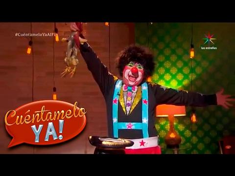 �El show de magia de Chuponcito! | Cu�ntamelo ya!... Al fin