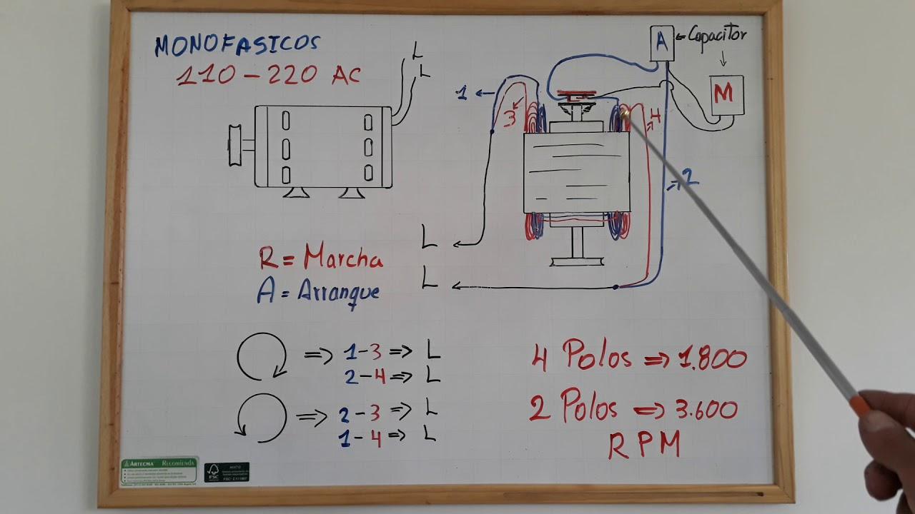 Como Conectar Capacitor De Arranque Y De Trabajo En Motor