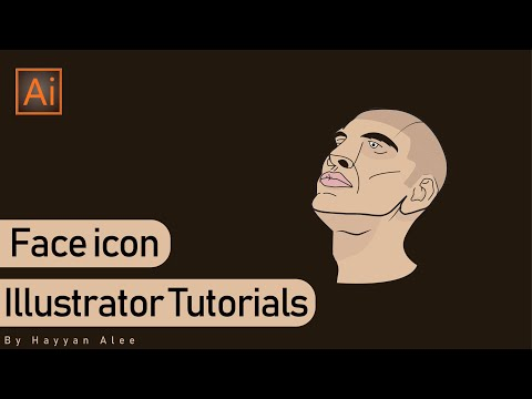 Face | Convert Photo To Vector | Illustrator Tutorials | Speedart thumbnail