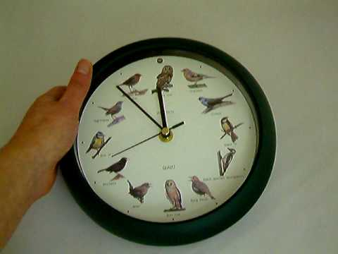 Bird Song Clock from www.thepresentfinder.co.uk