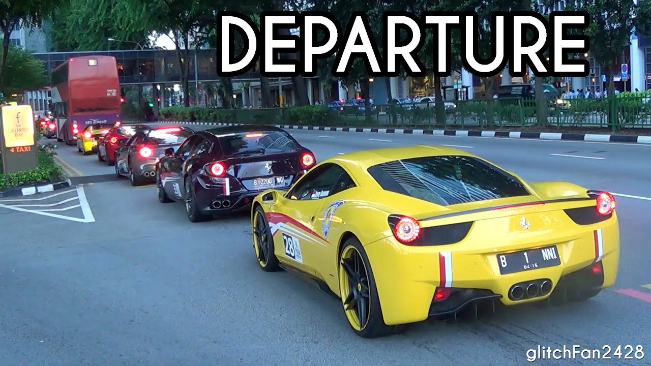 Ferrari Owners Club Indonesia Cruising Off Youtube