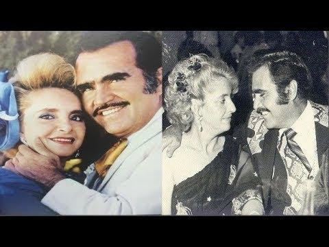 Vicente Fernández y su adorable esposa un Amor hasta la Eternidad