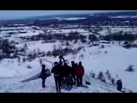 Сноуборд Прыжки с трамплина для начинающих