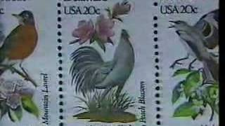 Arthur & Alan Singer 50 State Bird & Flower Stamps