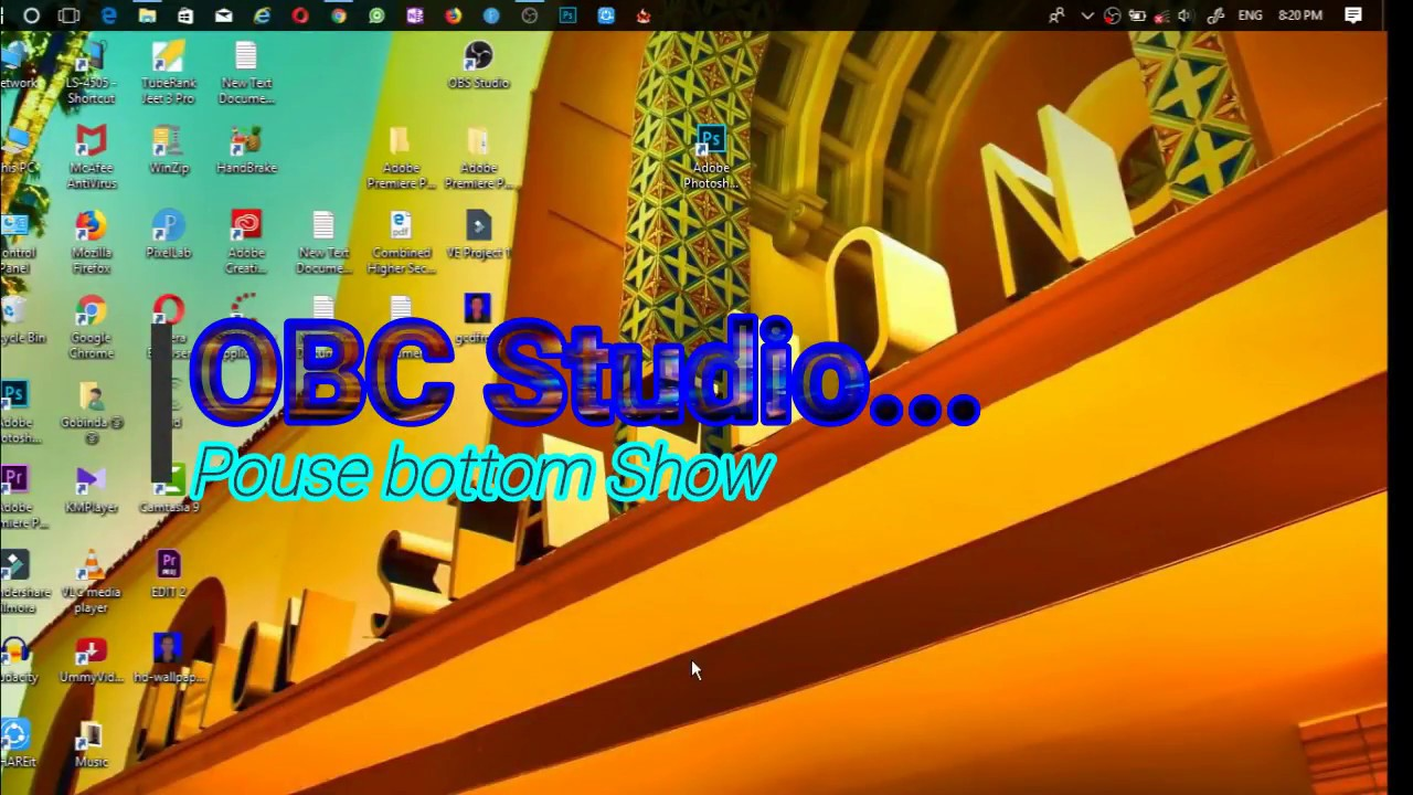 OBS Tutorial: How To Pause Button Show Open Broadcaster Software