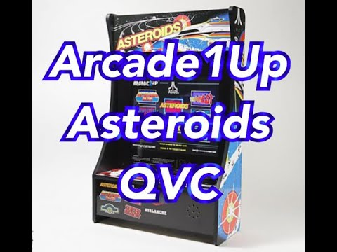 Arcade1Up PartyCade QVC Asteroids 8 Games Arcade 1Up from rarecoolitems