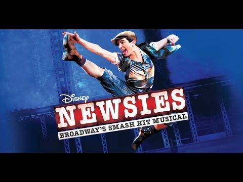 Newsies Musical at The Fox Theatre 2016