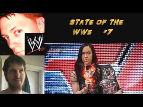 THE STATE OF THE WWE #7 -Undertaker vs Goldberg 3 Hour RAW problems AJ LEE ON FIRE ! Travel Video