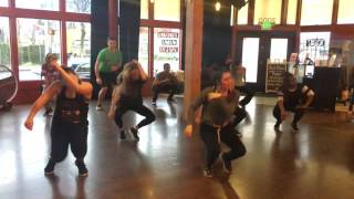 Hip Hop II with Alexis at Salsa N' Seattle Dance Studio