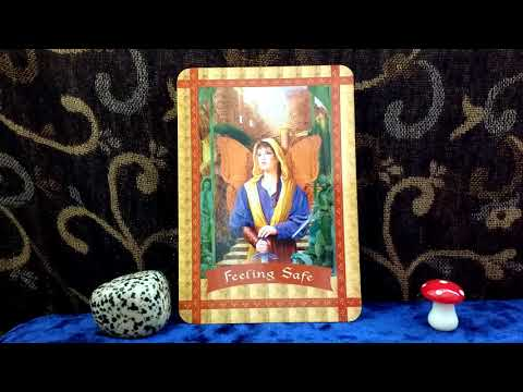 Daily Oracle Card Reading 21st April feeling safe healing with the fairies all signs angel tarot