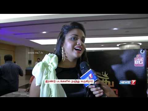 Actress Keerthi Suresh talks about Vikram Prabhu and Siva Karthikeyan thumbnail