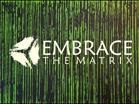 Studio Tour - Embrace The Matrix - Abstract Artist