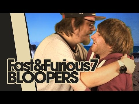 FAST AND FURIOUS 7 | bloopers