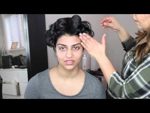 Indian/Arabic Bridal Updo/Hair