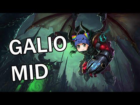 Gatekeeper Galio Mid - Full Gameplay Commentary