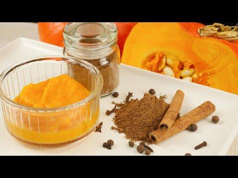 Pumpkin Puree & Pumpkin Pie Spice