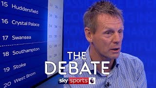 Who will be relegated from the premier league? | stuart pearce & ian wright | the debate