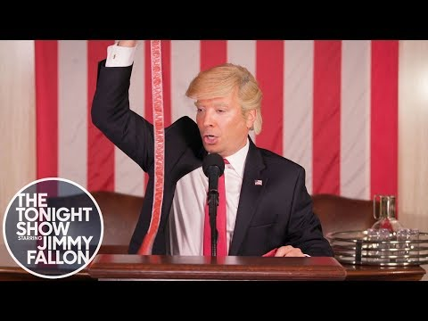 Donald Trump's State of the Union Address First Draft Outtakes