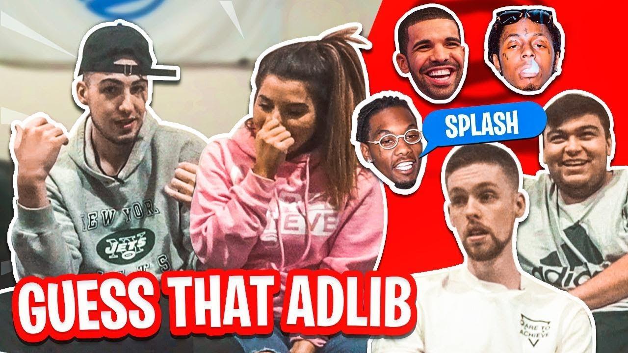 Guess That Rapper's AD-LIB! (Offset, Drake, Lil Wayne & MORE!)