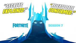*NEW* FORTNITE SEASON 7 TEASER EXPLAINED SECRETS! + RELEASE DATE (Season 7 Storyline + Map Changes!)