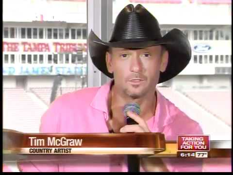 Country stars Tim McGraw and Kenny Chesney kick off tour