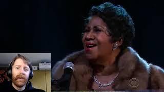 Australian Douchebag Reacts to Aretha Franklin Singing