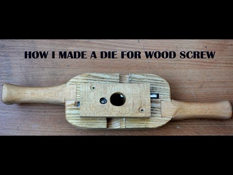 Die for wood screw