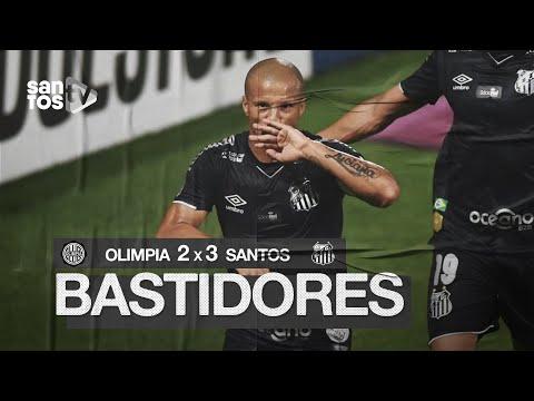 OLIMPIA 2 X 3 SANTOS | BASTIDORES | CONMEBOL LIBERTADORES (01/10/20)